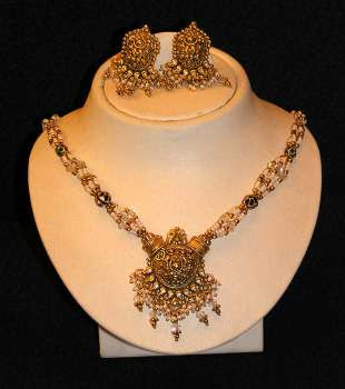 Latest Gold Jewelry Designs Indian Jewelry Designs The Hairstyle 9