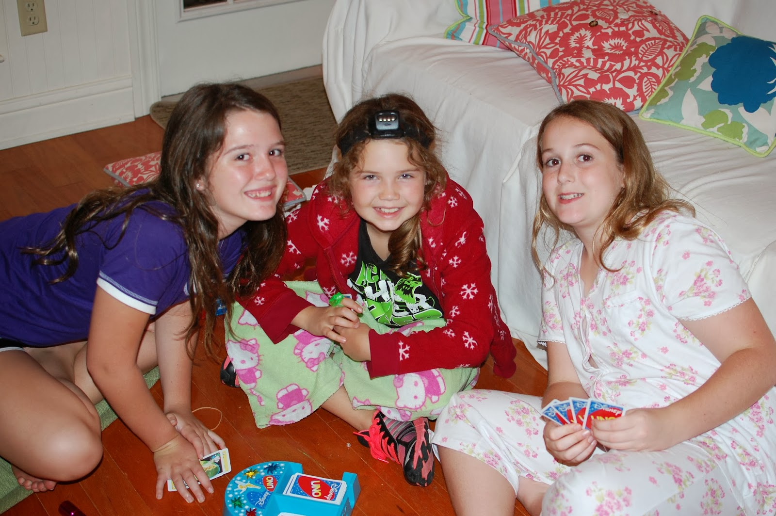 tween girls sleep over