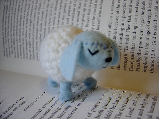 little crochet sheep lamb 2