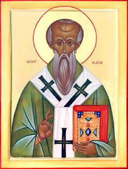Azi 11 februarie praznuirea Sfantului Ierarh Vlasie, Episcopul Sevastiei !