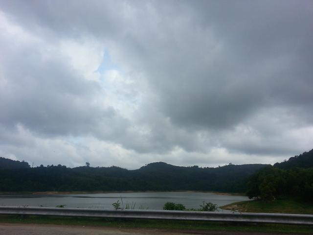 Bang Wad Dam - Reservoir lake in Kathu