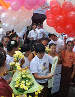 >Suu 66 & Burma Women's Day Celebrated at NLD HQ in RGN