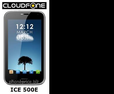 CloudFone ICE 350e Specs