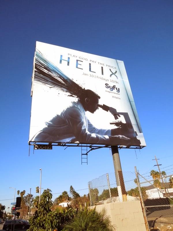 Helix Syfy series premiere billboard