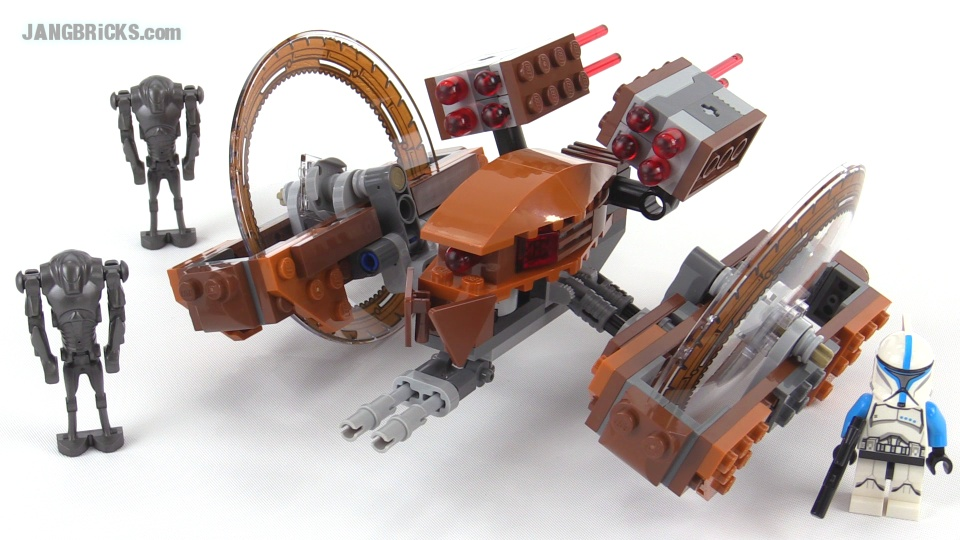 Lego star wars hailfire droid review set 75085 - Lego star wars vaisseau droide ...