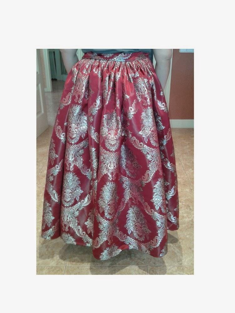 falda de baturra o jotera