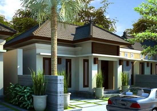 model desain rumah type 45 dan 70 modern dan mewah