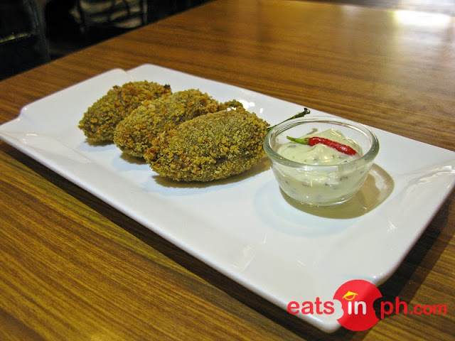 Caramba Croquettes from Small Talk Cafe in Legazpi City, Albay