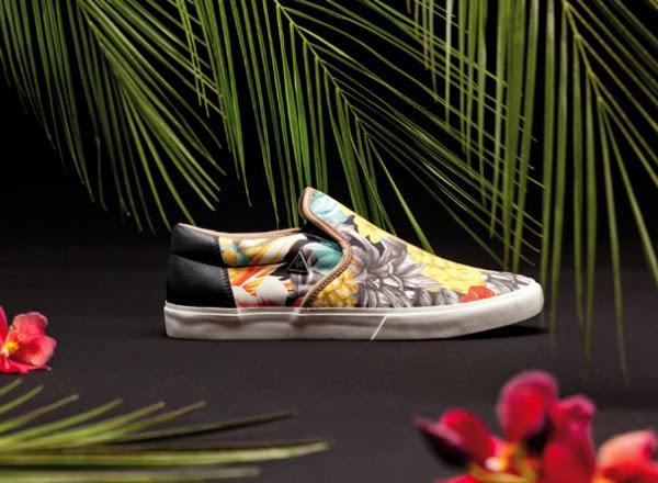 Le Coq sportif zapatillas estampadas tropical primavera verano