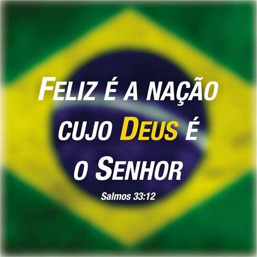 O Brasil é do Senhor Jesus!