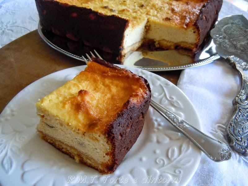 Sernik: torta polacca alla ricotta