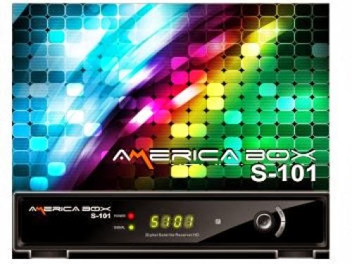 AZAMERICA AMERICA BOX S101 V 1.24 - ATUALIZAÇÃO 18/10/2013