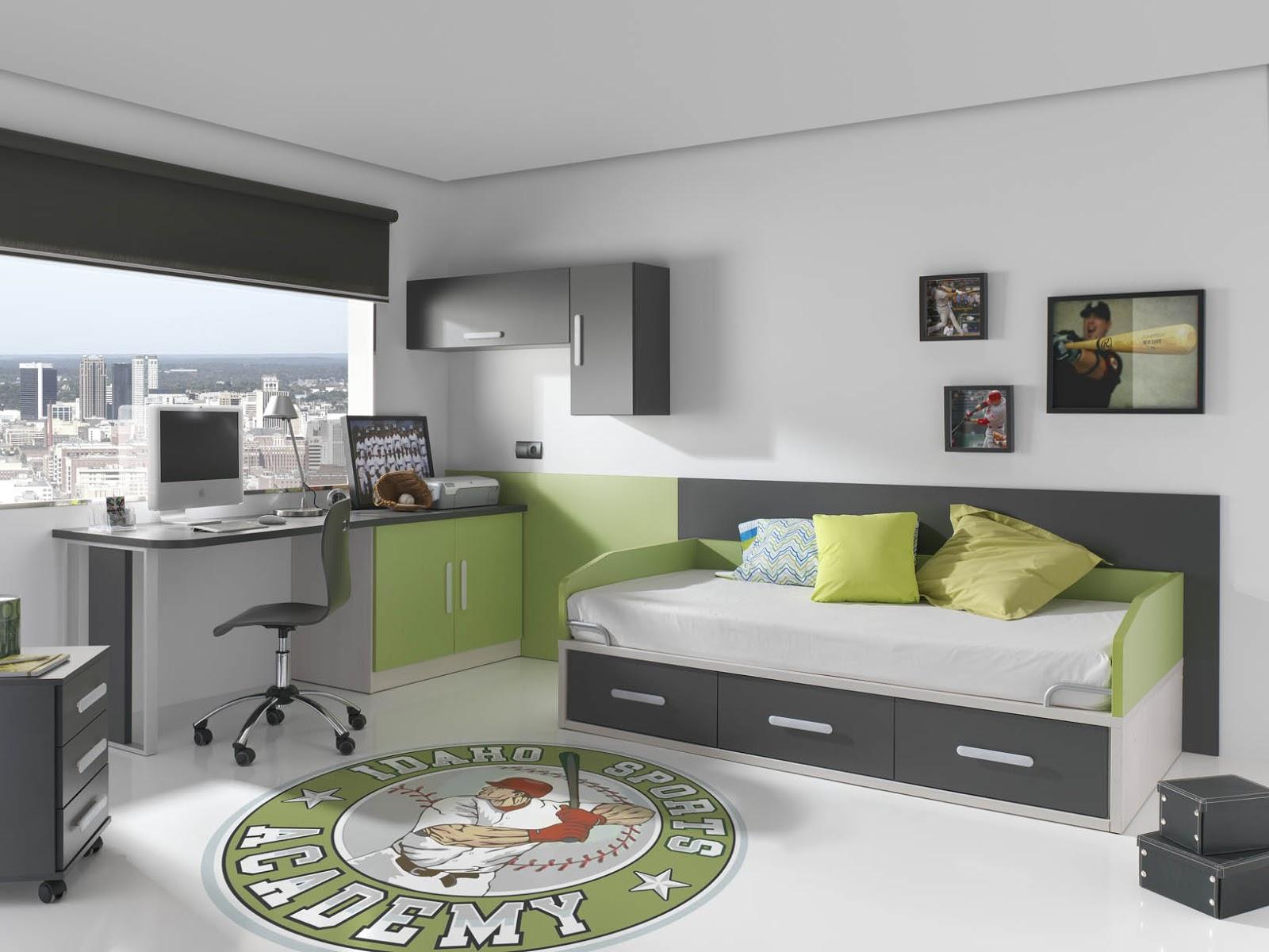 Doos interiorismo dise o habitaciones juveniles for Diseno habitaciones