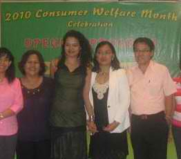 DTI with Ambassador Zara Jane Juan