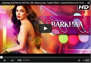 Barkhaa Full Movie (2015) | Sara Loren, Taaha Shah | HD Movie