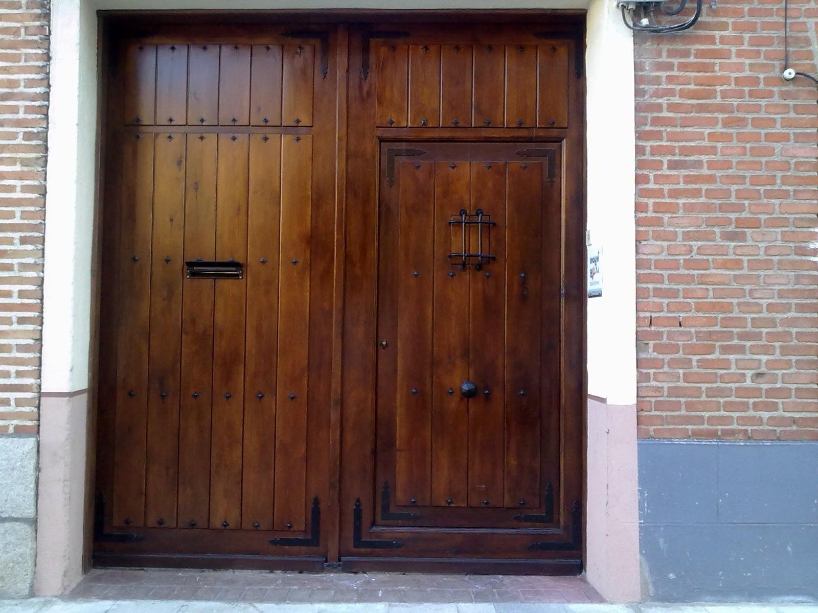 Puertas y portones de madera tattoo design bild - Puertas rusticas de madera ...