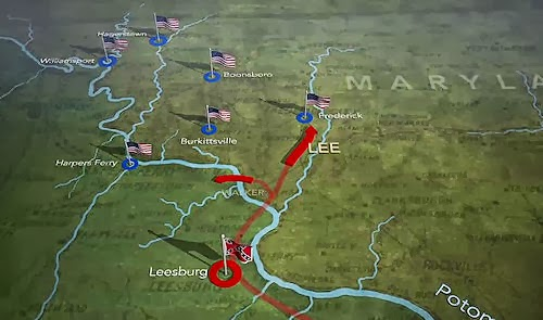 The Presurfer Animated Maps Civil War Battles In Action