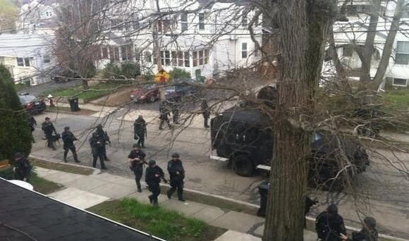 martial law in Boston
