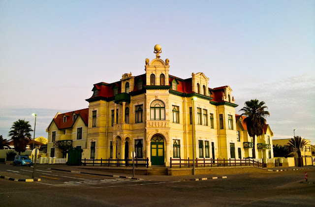 Hohenzollern House in Swakopmund, Namibia