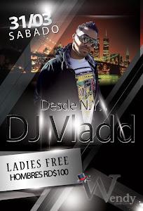 DJ VLADD @ WENDY GLASS BONAO SABADO 31 DE MARZO 2012