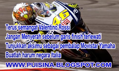 Puisi Berita Semangat Valentino Rossi