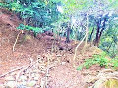 鶏籠山城(兵庫県たつの市)
