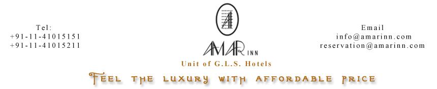 Amar Inn Hotel Delhi Lajpat Nagar