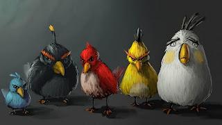 Gambar Burung Angry Bird