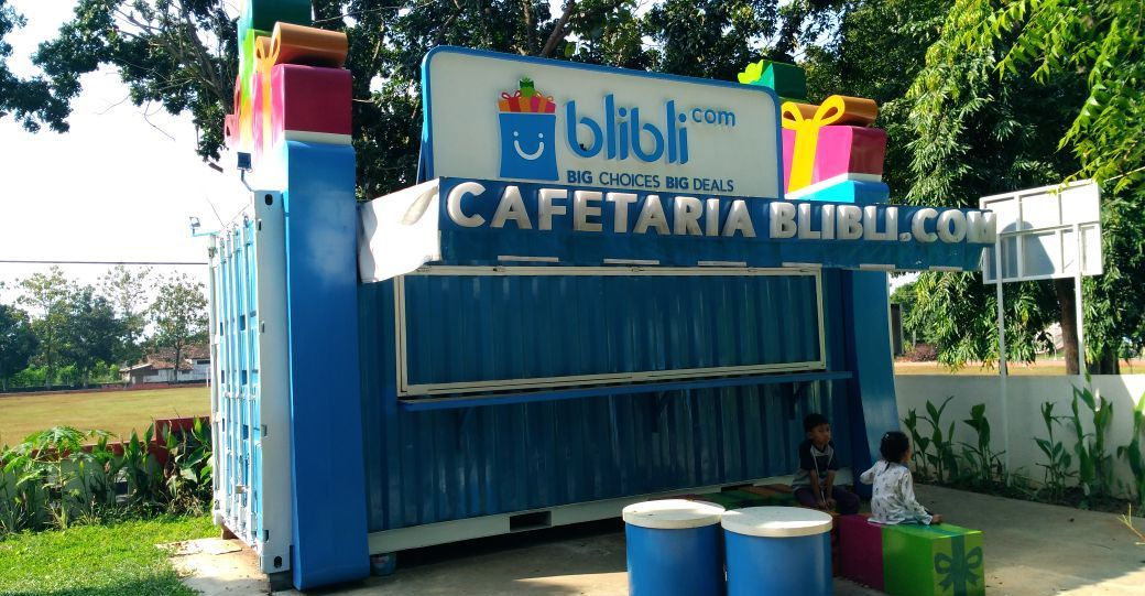 Cafe Container Jakarta