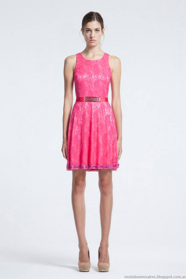 Vestidos de fiesta moda otono invierno 2015 – Moda Española moderna 2018