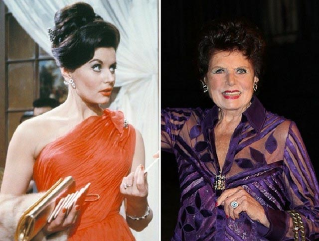 Eunice Gayson young and old pictures