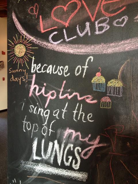 Hipline Oakland, Community Chalkboard, Oakland, CA