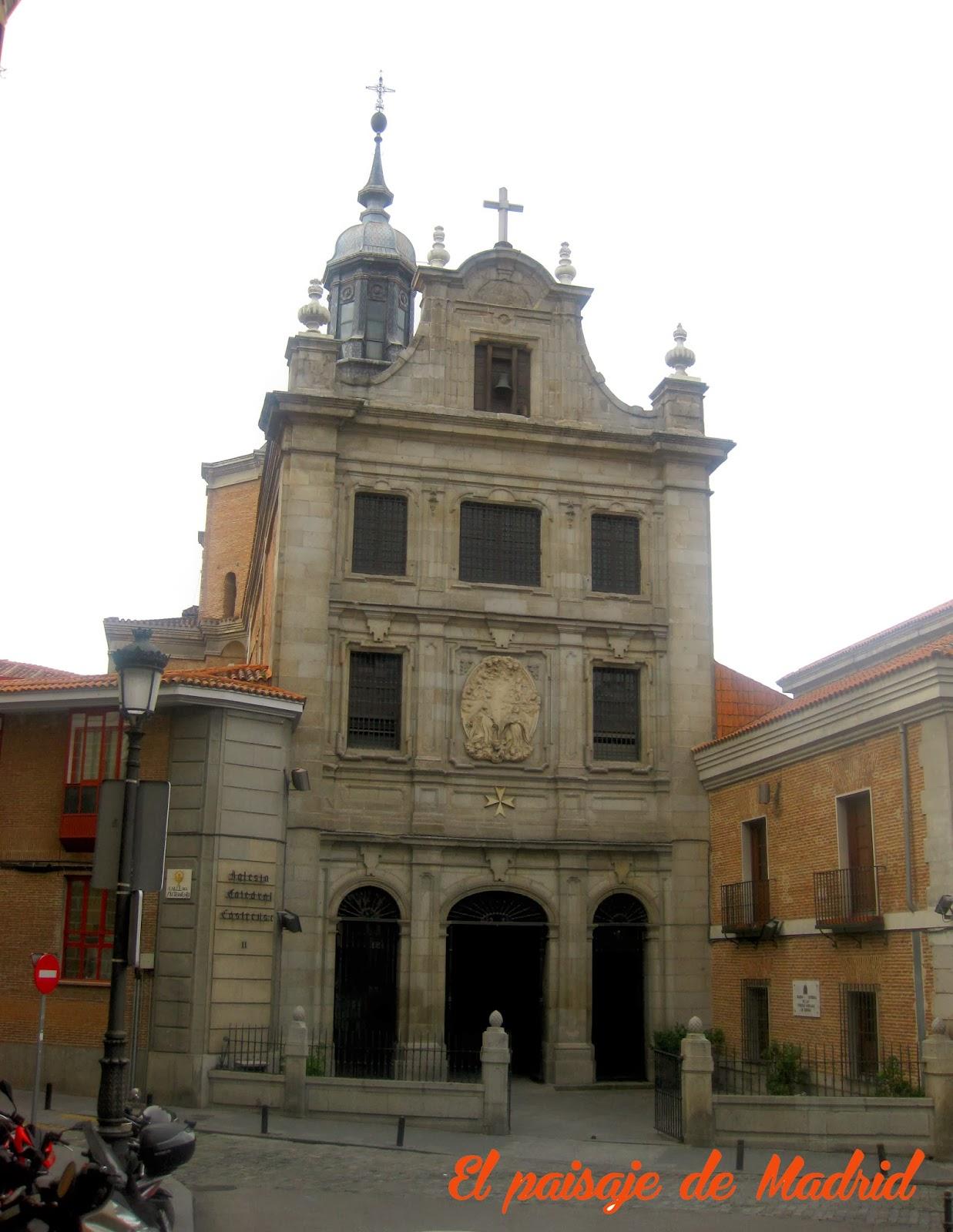 El desaparecido Convento del Sacramento-Iglesia