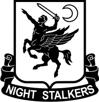 "U.S. Army 160th Special Operations Aviation Regiment (SOAR) ""Night Stalkers"""