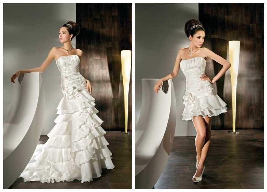Mermaid style wedding dresses with