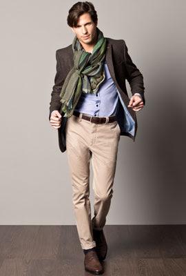 moda hombre otoño invierno 2012 2013 Caramelo
