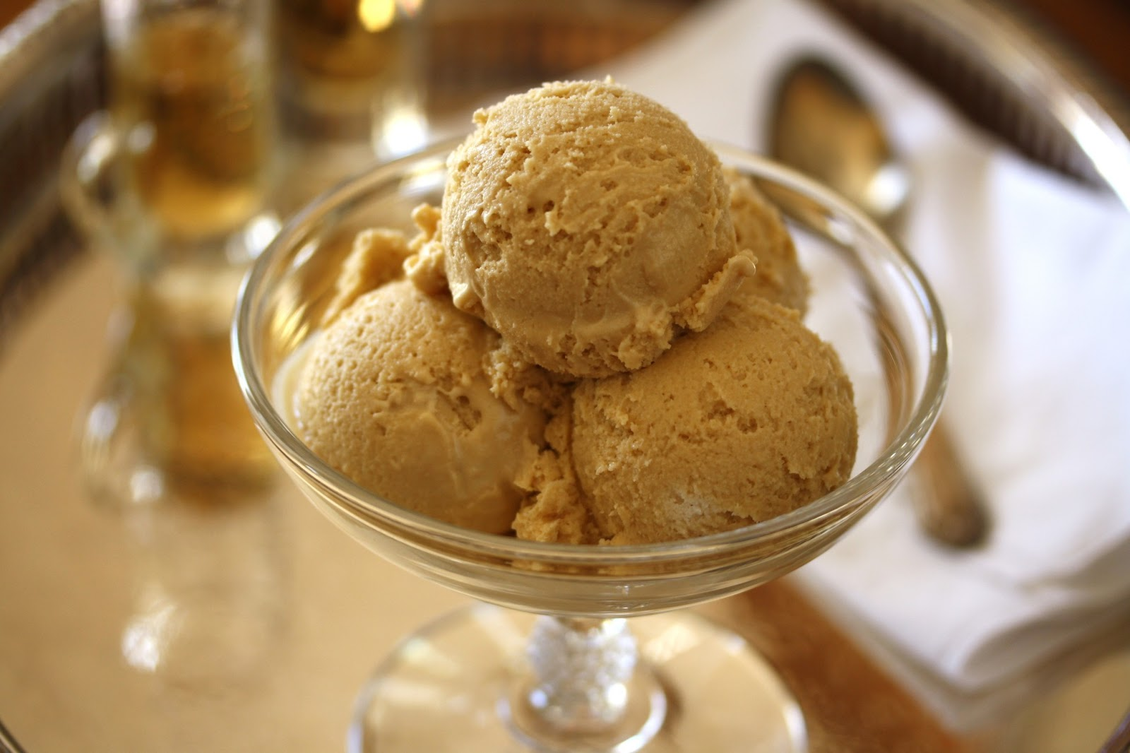 Brown Sugar Bourbon Ice Cream - Saving Room for Dessert