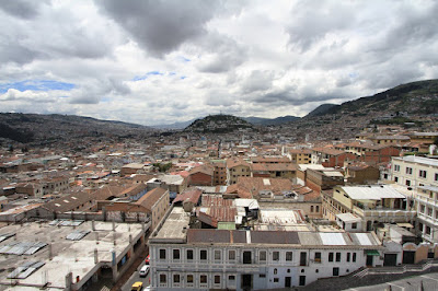 Views from Basilica of the Nacional Vow - Quito