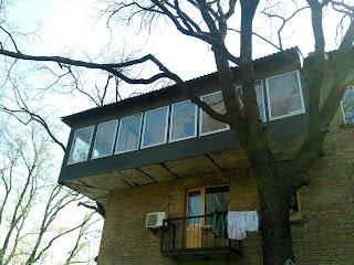 самый угловой балкон
