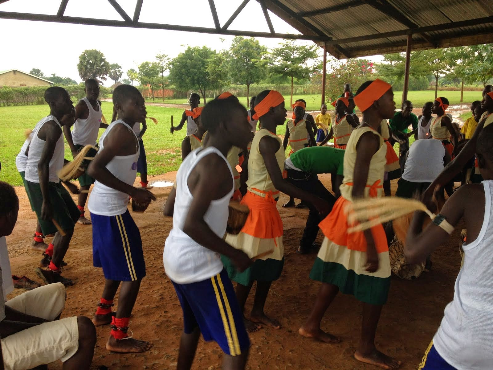 Traditional Acholi dance