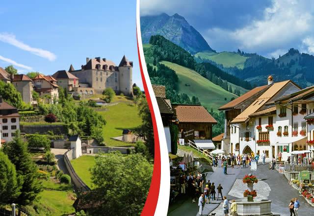 Gruyeres - canton of Fribourg,  Switzerland, Suíça