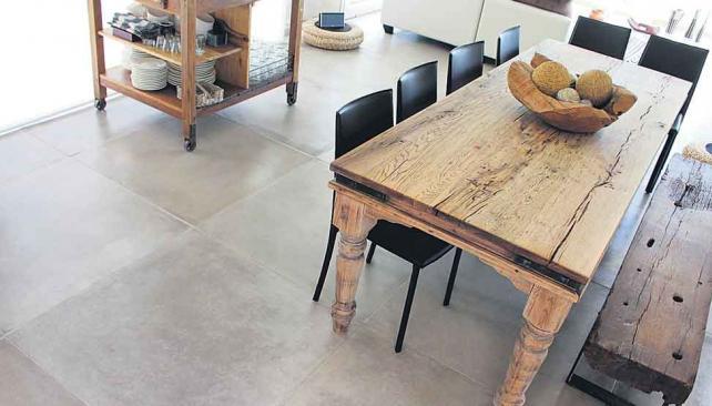 Muebles de cemento octubre 2015 for Pisos para exteriores modernos