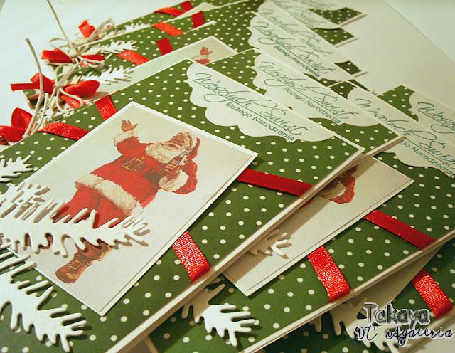 kartki świąteczne na zamówienie