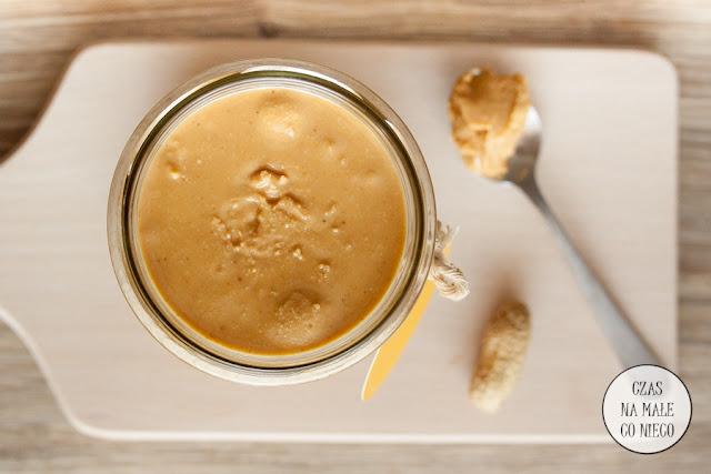 masło orzechowe DIY