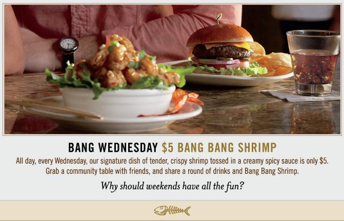 It 39 s hip to clip coupons bang bang shrimp at bonefish for Bone fish grill coupons
