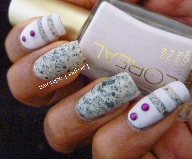 Lacquer Lockdown: L\'Oreal Le Pastille & Sweet Lilac Spots & Dots ...