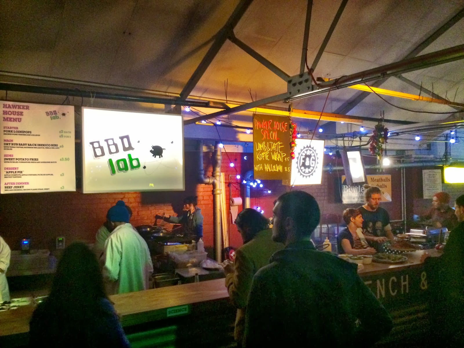BBQ Lab and French & Grace at Hawker House Street Feast