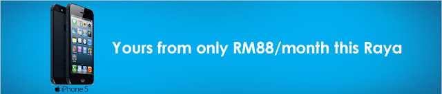 Celebrate Raya with a new iPhone 5