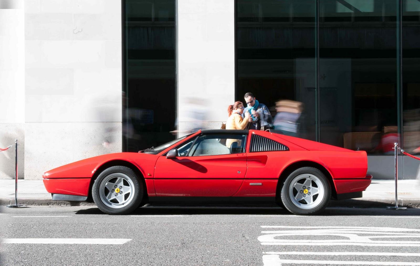 Ferrari Brings 8 Generations Of Its Mid Engine V8 Supercar