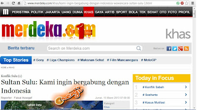 Kiram Minta Bantuan Tentera Indonesia Perangi Sabah?